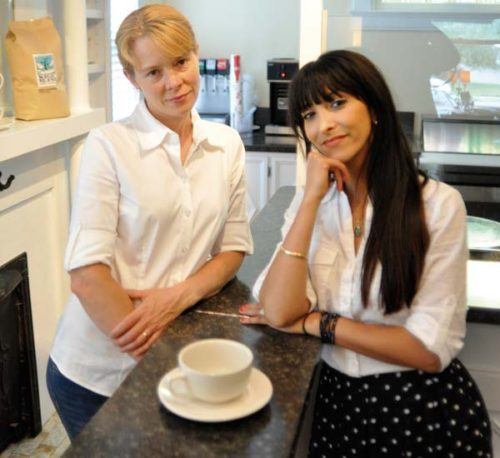 Shannon Arnold (left) and Linda Chambers opened a La Petite Creperie restaurant after the success of their mobile food endeavor.