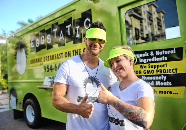 Fort Lauserdale, FL: Fort Lauderdale's Eggstatic Food Truck Rolls Out Organic Breakfast