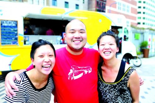 The Mei Mei Food Truck run by siblings from left, Irene, Andrew and Margaret Li. Credit Nicolaus Czarnecki/Metro