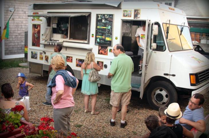 Irie Bites food truck has been located in Vineyard Haven in previous years. -
