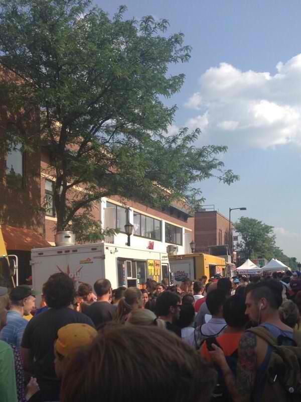 Urmila Ramakrishnan More than 20,000 foodies gathered at the second annual Minnesota Food Truck Fair in Uptown in Minneapolis
