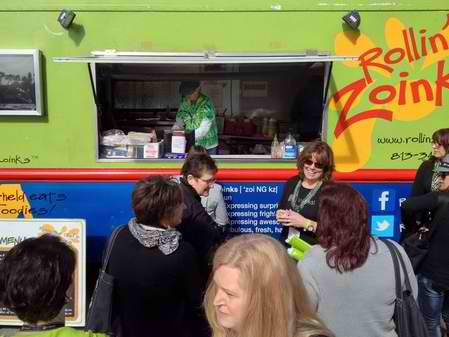 Tampa's Rollin' Zoinks food truck is scheduled to be among more than 90 trucks expected to participate Aug. 31 in what is being billed as the world's largest food truck rally at the Florida State Fairgrounds.