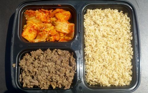 bulgogi rice platter (credit: NYSF)