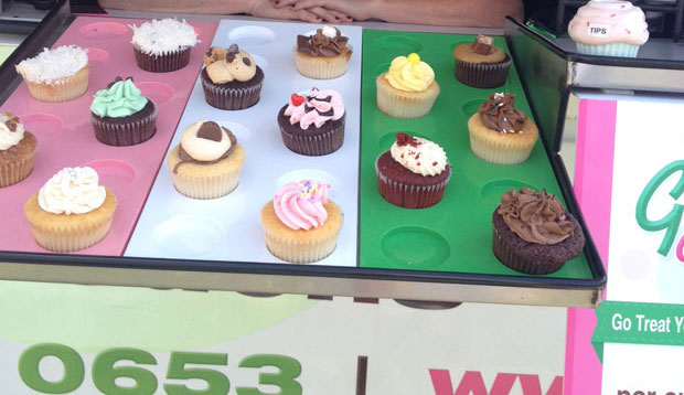 BEN MARRISON Go Cupcake is selling a variety of tasty sweets.