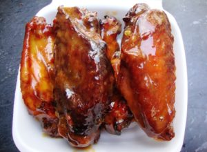 Spicy Peanut Wings (credit: NYSF)