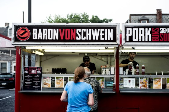 Baron Von Schwein participates in the Harrisburg MASHUP held earlier this year. This Lancaster County based restaurant on wheels features pulled pork in everything from mac and cheese to specially baked buns. PHOTO COURTESY OF SUSQUEHANNA PHOTOGRAPHIC