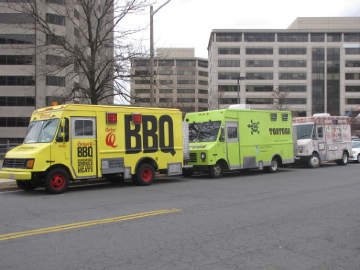 Fairfax County, VA: Lunchtime in Fairfax Parks Offers New Food Truck Options for Reston