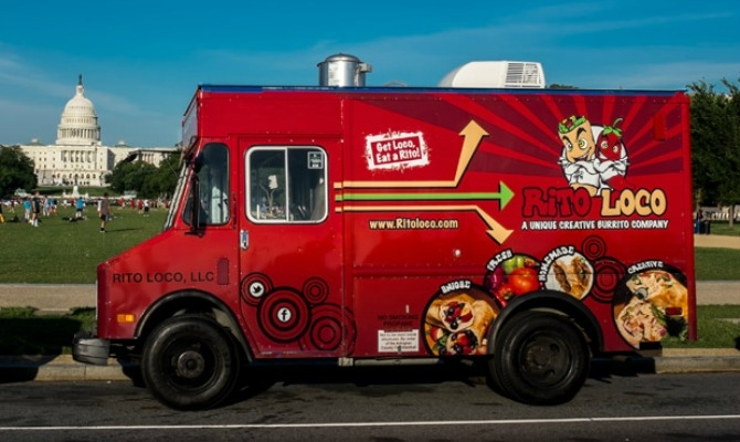 Rito Loco is a local favorite that was recently voted to be D.C.'s best in a Washington City Paper poll. Keywords Washington D.C., Food Trucks, 101 Best Food Trucks