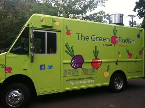 Montclair, NJ: The Green Radish, New Vegan Organic Food Truck, Coming to Montclair