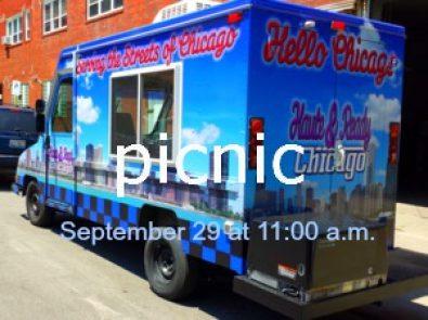 Chicago food trucks at a suburban church picnic? Check!