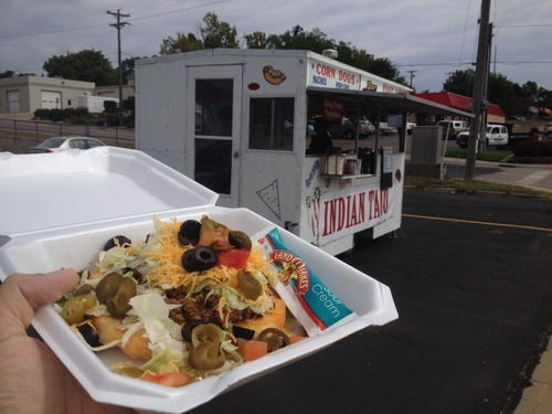 Sioux Falls, SD: Food Truck News – Infrequent Indian Tacos and a Kickstarter Tacos Campaign