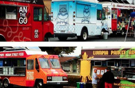Alameda, CA: Sept. 28 Food Truck Lineup – Cupkates, Hiyaaa, Five Ten Burger
