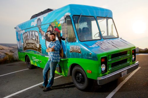 Contributed photo The Nomad Gourmet is a well-known fixture in Halifax's food truck community.