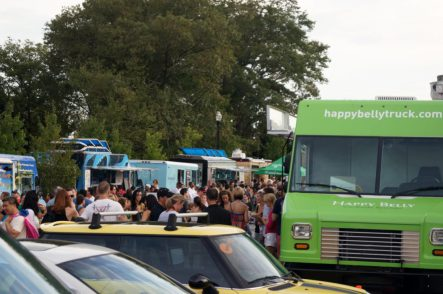Food Truck Tuesday will be held at Taylor-Brawner Park between 5 and 9 p.m. on Sept. 24. Credit: Patch