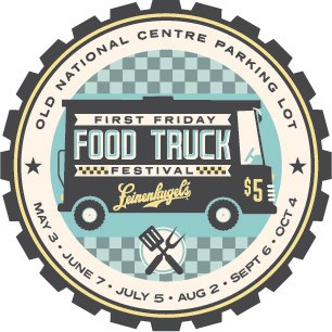 IN-Indianapolis-First Friday Food Truck Festival