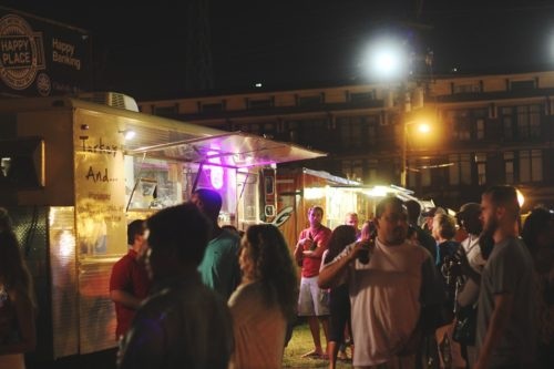 Food Truck Friday, located in SouthEnd, is a place for guests to try new food and enjoy the late summer weather with friends or even as a date.