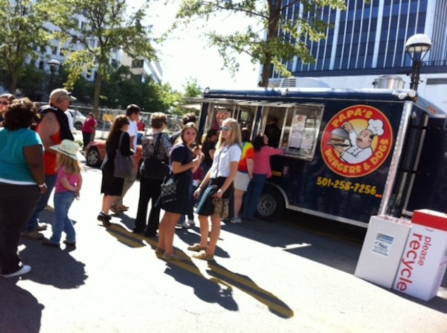 Starting this week, three to four food truck vendors will be setting up shop from 11 a.m. - 1 p.m every Friday on the corner of Main Street and Capitol Avenue for Main Street Food Truck Fridays.