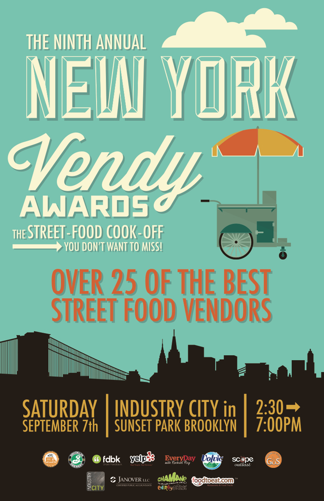 New York, NY: Celebrate the 9th Annual Vendys in Sunset Park on September 7th!