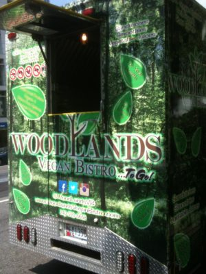 Woodland's forest motif