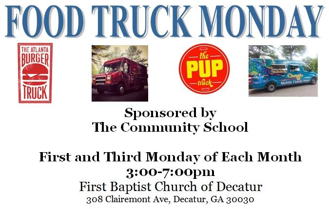 Decatur, GA: Food Truck Monday!