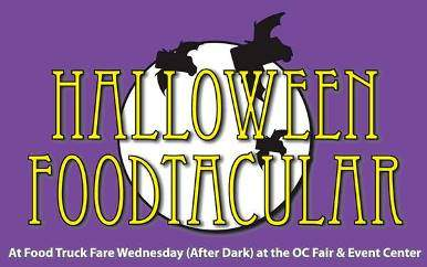 No Tricks, Just Treats at the Food Truck Fare Halloween Foodtacular at the OC Fair & Event Center
