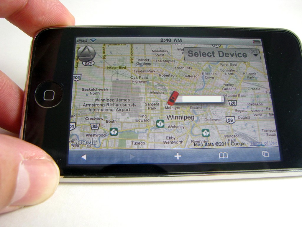 National News: Real-Time GPS Positions Help Business