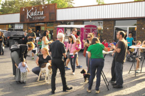 Sandy Springs also offered a food truck event, 'Foodie Fridays,' as part of the ArtSSprings celebration. Patrons gathered weekly at Kudzu & Company on Roswell Road to enjoy gourmet treats.