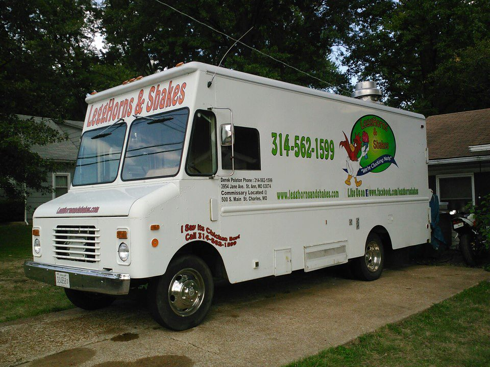 St. Louis, MO: Legghorns and Shakes Food Truck – Chicken and Ice Cream