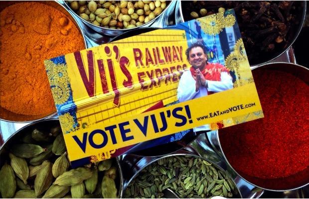 Vij's Railway Express won the People's Choice award. Photograph by: Screenshot, EnRoute
