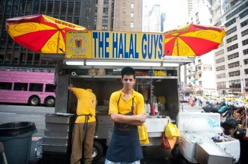 JOHN TAGGART FOR NEW YORK DAILY It's official! In November, The Halal Guys will be opening up a new restaurant on 14th St.