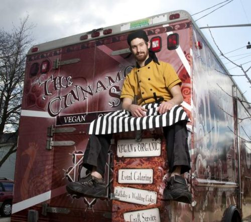 "Adam Sobel's Cinnamon Snail food truck is a finalist for the ""Best of NJ"" Vendy award. Photo courtesy of Adam Sobel."