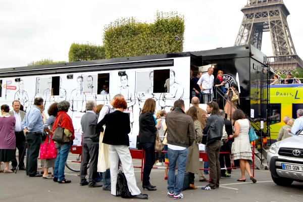 French Food Truck In San Francisco