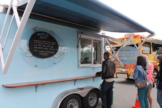 Vancouver, CAN: Feast at the Food Truck Festival every Saturday in January