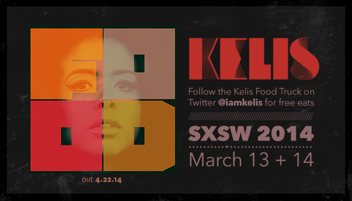 Austin, TX: Kelis Food Truck @ SXSW brought to you by Roaming Hunger & Ninja Tune