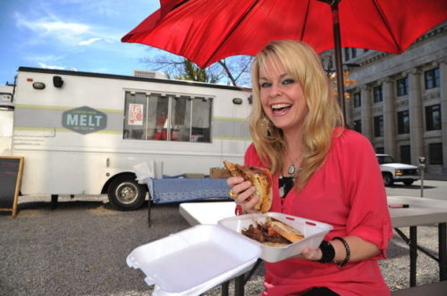 Paget Pizitz is co-owner of the Melt truck, which will be at the 2014 Protective Life Food Truck Round Up on Saturday, April 26, in the upper parking lot of Macy's at Colonial Brookwood Village in Homewood. (Frank Couch/fcouch@al.com)