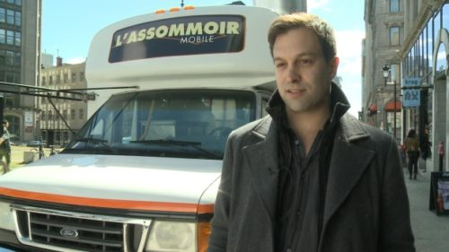 Louis-Pierre Charest says he wants to know why he was refused a permit to operate his food truck this summer in downtown Montreal. (CBC)