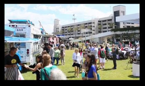 San Diego, CA: Food Trucks – Providing Good Vibes & Good Eats to the Bayfront
