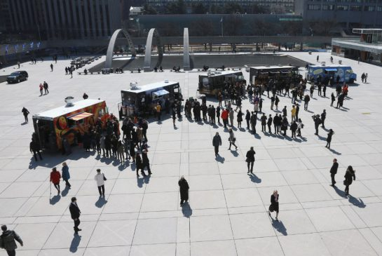 On May 15, gourmet food trucks will finally be allowed to roam Toronto, park on some streets, and sell meals from parking lots. It's about time.