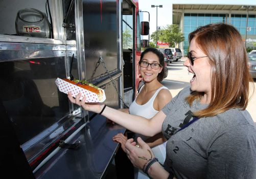 Photos:  Thomas B. Shea  Food-truck fans will have plenty to celebrate Sunday when the West Houston Food Truck Festival gets cooking.