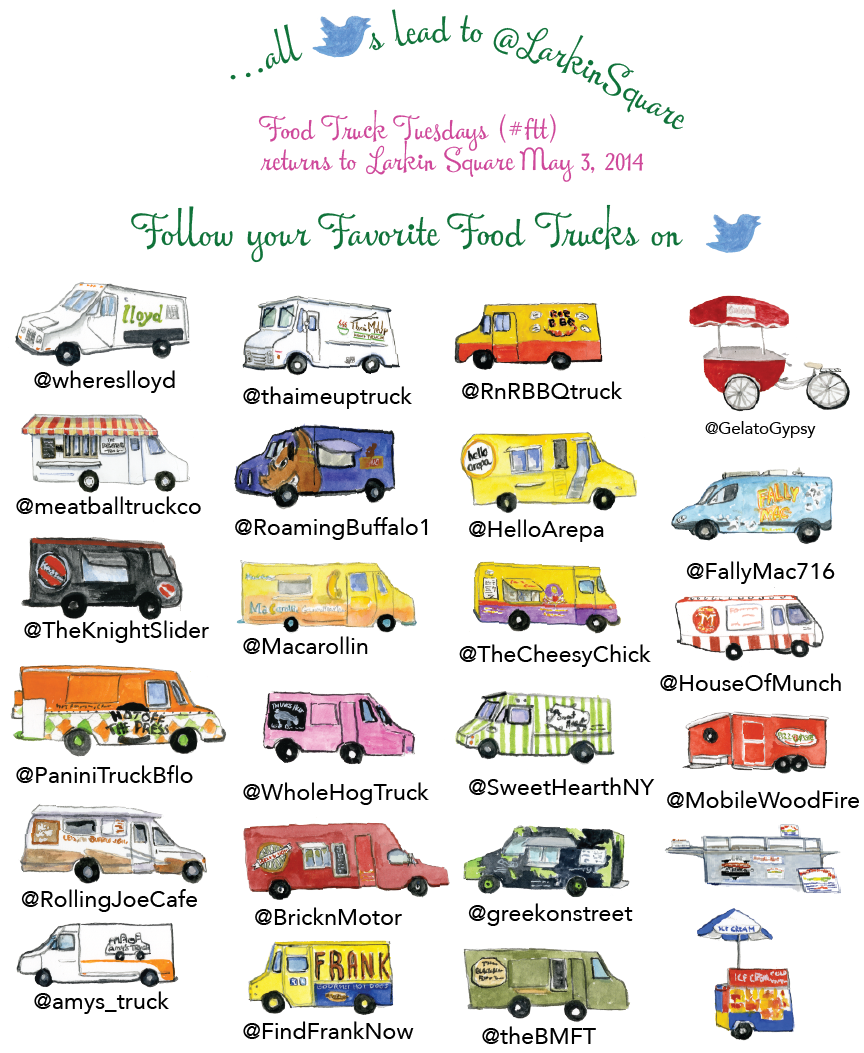 Buffalo, NY: Food truck Tuesdays