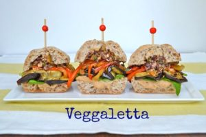 Photo courtesy Ripe Cuisine An example of Hoban's approachable vegan food, the veggaleta.