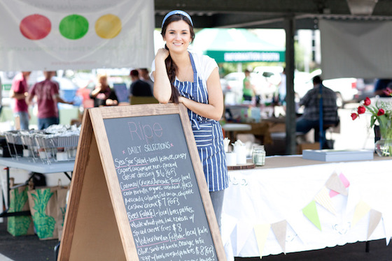 Photo courtesy Ripe Cuisine Stephanie Hoban wants to bring vegan food all over town with a new food truck.
