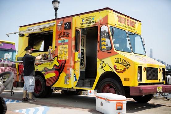 The Callahan's food truck Cassandra Giraldo for The Wall Street Journal