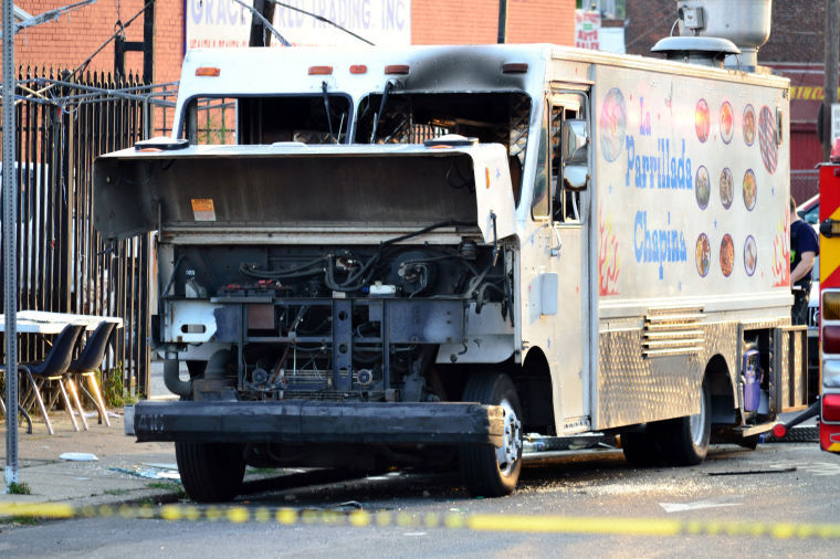 Philadelphia, PA: Police – Leak, Grill Heat Caused Philadelphia Food Truck Blast that Injured 5
