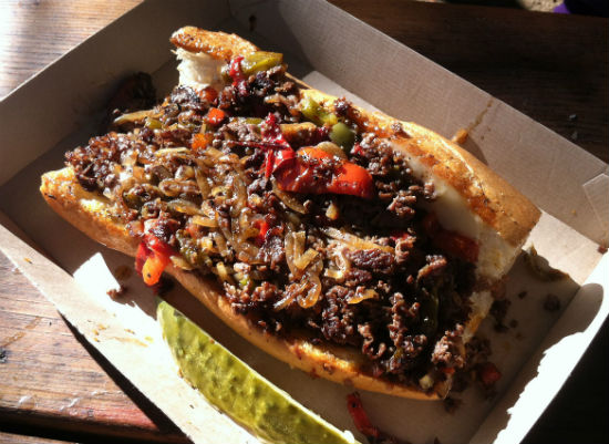 Dallas, TX: 100 Favorite Dishes, No. 70: Cheesesteak at Truck Yard