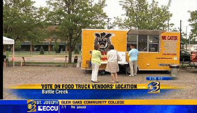 Battle Creek, MI: Battle Creek City Commission to Decide Location Policy for Food Trucks