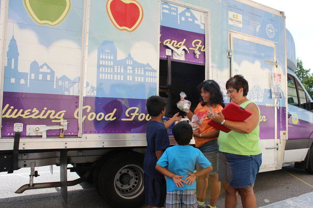 Wocester, MA: Worcester Public Schools' Nutritional Focus Transitions from Summer Food Truck to School Cafeteria