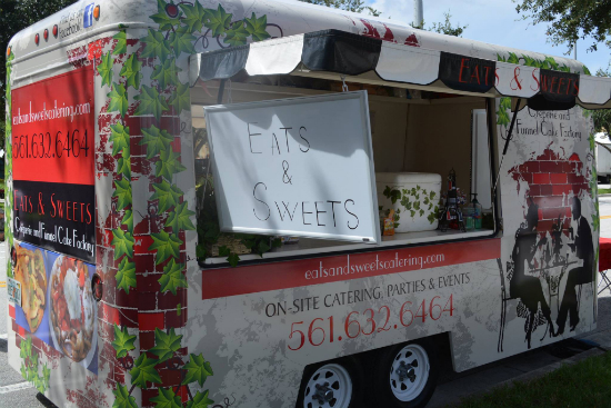 Ft. Lauderdale, FL: Eats and Sweets Serves Gourmet Sweet and Salty Crepes