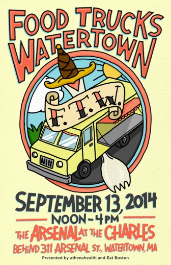 Watertown, MA: Food Truck Festival Coming to Watertown's Arsenal on the Charles