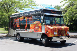 The Firedog Truck, serving hot dogs and pulled pork, is one of the vendors signed up for Food Trucks in the Valley.